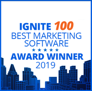 Ignite 100 Best Marketing Software 2019 Award Winner